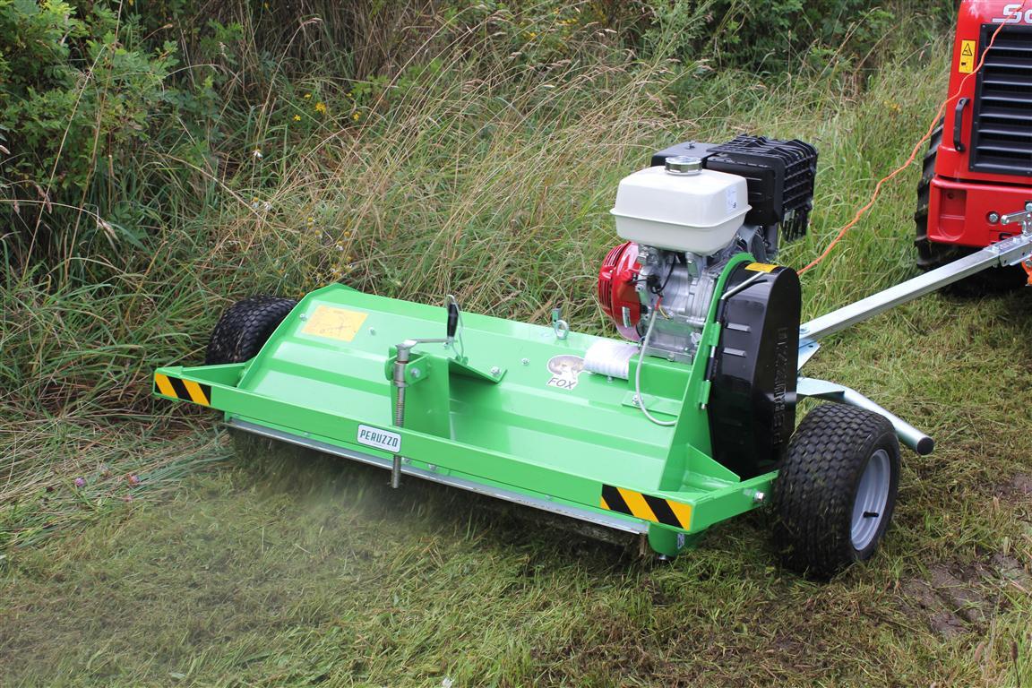 ATV slagleklipper Peruzzo Motofox - Maskinhandel.dk - Brugte traktorer og landbrugsmaskiner
